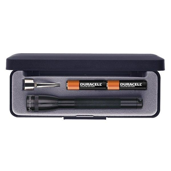 Maglite Presentation Box AAA Mini Flashlight Black