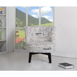 Raleigh Vintage Print Swivel Chair