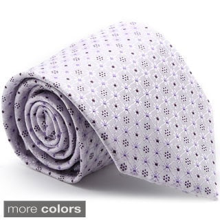 Ferrecci Men's Premium Flower Pattern Neckties