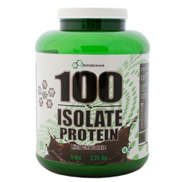 NutraScience 100-percent 5-pound Vanilla Whey Isolate Protein