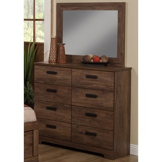 Sandberg Furniture Urban Village Dresser and Mirror