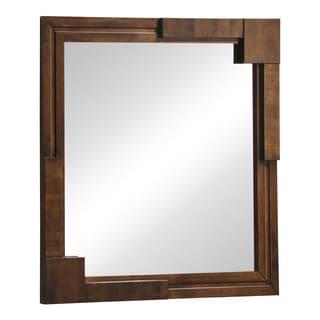 Zuo San Diego Walnut Finish Mirror