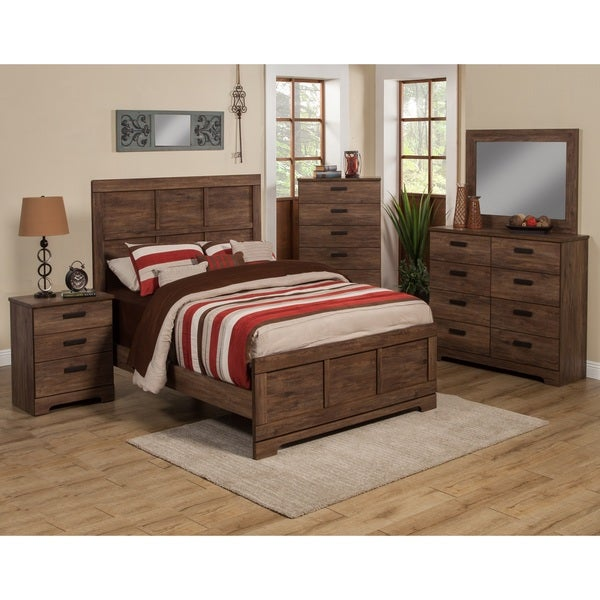 Sandberg Furniture Urban Village Bed