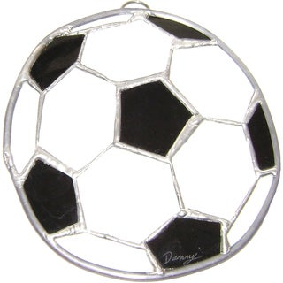 Stained Glass Soccer Ball
