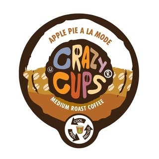Crazy Cups 'Apple Pie A La Mode' Single Serve Coffee K-Cups