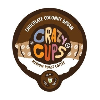 Crazy Cups 'Chocolate Coconut Dream' Single Serve Coffee K-Cups