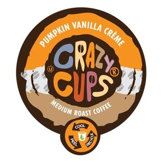 Crazy Cups 'Pumpkin Vanilla Crème' Single Serve Coffee K-Cups