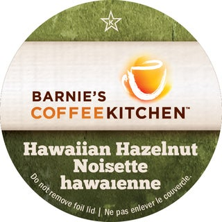 Barnies Coffee Kitchen ' Hawiian Hazelnut' Single Serve Coffee K-Cups