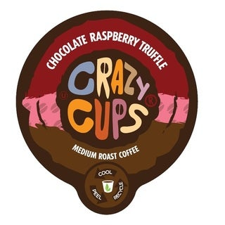 Crazy Cups 'Chocolate Raspberry Truffle' Single Serve Coffee K-Cups