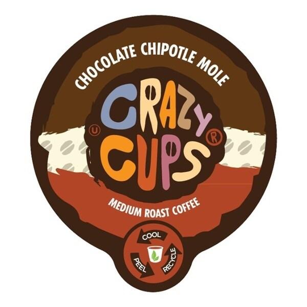 Crazy Cups 'Chocolate Chipotle Mole' Single Serve Coffee K-Cups