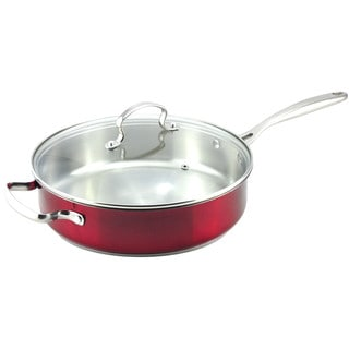 Kevin Dundon 11-inch Saute Pan with Lid
