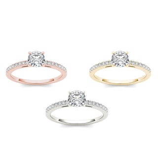 De couer 14k Gold 1 1/5ct TDW Diamond Classic Engagement Ring (H-I, I2)