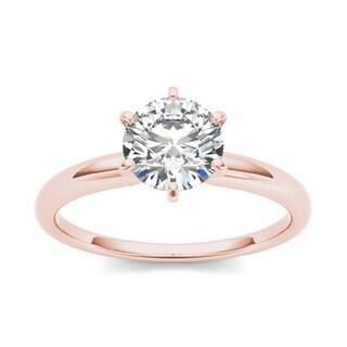 De couer 14k Gold 1ct TDW Diamond Classic Engagement Ring (H-I, I2)