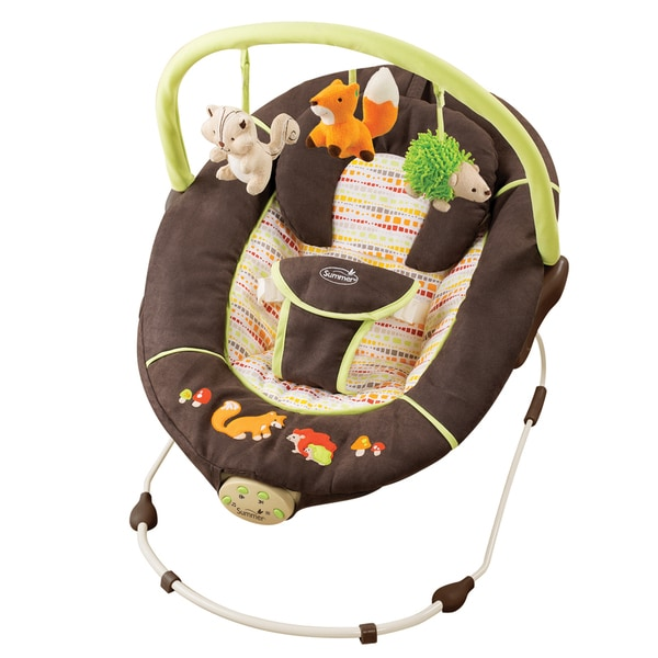 Summer Infant Sweet Comfort Musical Bouncer in Fox & Friends