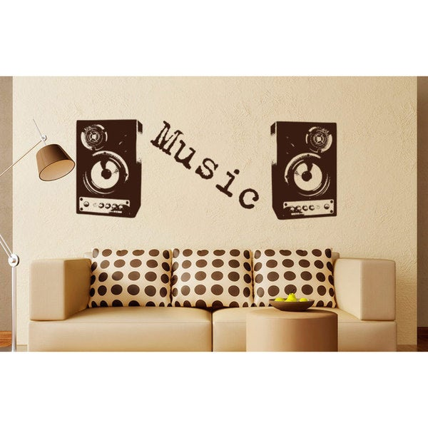 DJ Mix Music Inspirational Vinyl Sticker Wall Art