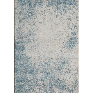 "Studio Blue Mist Power-Loomed Rug (5'3""x7'6"")"