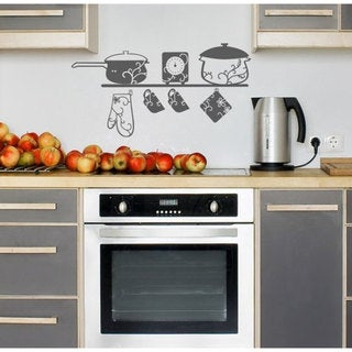 Cooking Kitchen Vinyl Sticker Wall Art