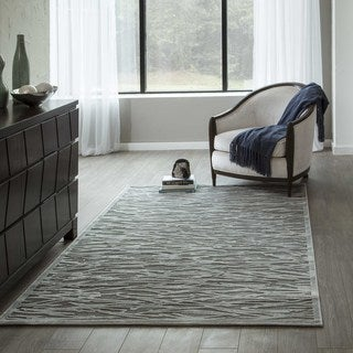 """Luxe Branches Machine-Made Rug (7'10""""x10'6"""")"""