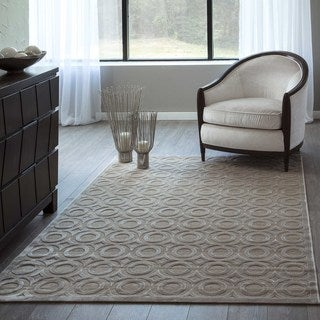 "Luxe Circles Machine-Made Rug (9'2""x12'6"")"