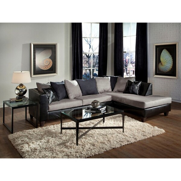 LYKE Home Prime Grey Sectional