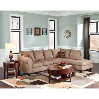 LYKE Home Bennie Taupe Sectional