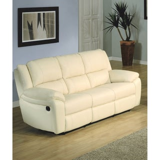 LYKE Home Baxton Ivory Sofa