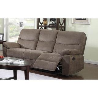 LYKE Home Farrel Coffee Color Motion Sofa