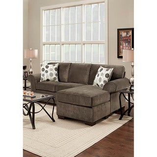 LYKE Home Tamara Grey Sofa Chaise