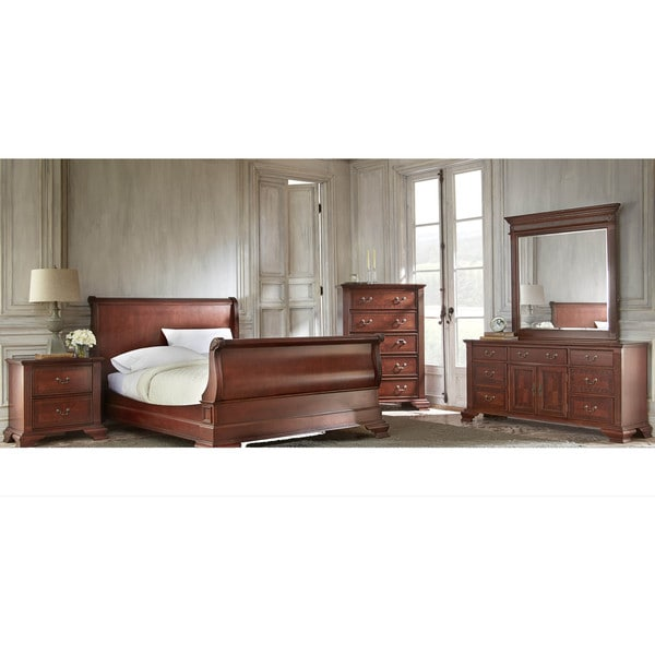 LYKE Home Andi Sleigh Bed