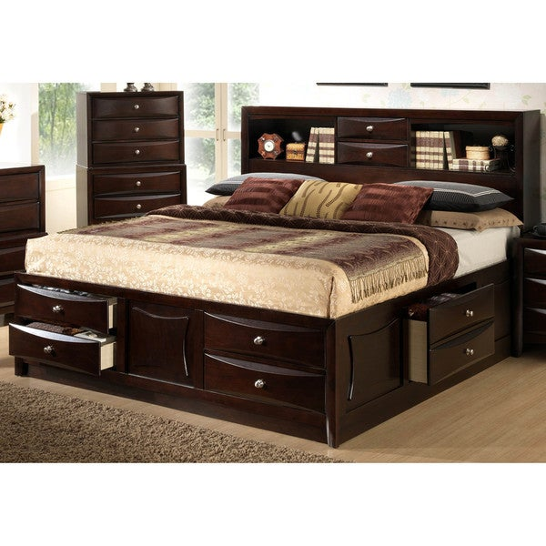 Lyke Home Oxi Storage Bed 17317325 Overstock Com