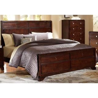 LYKE Home Phylis Merlot Bed