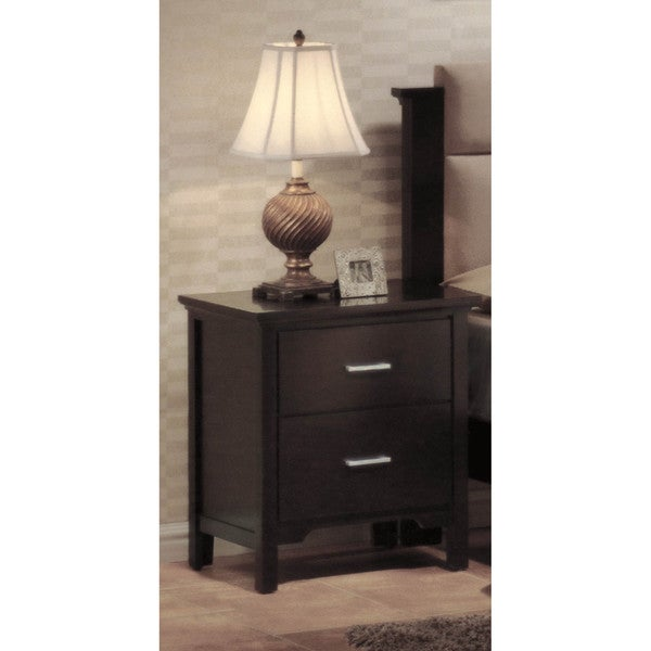 LYKE Home Rea 2-drawer Night Stand