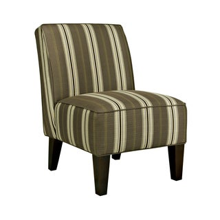 Better Living Madigan Brown Stripe Armless Chair