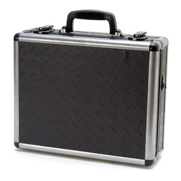T.Z. Case Double-Sided Pistol Case Diamond Plate Finish