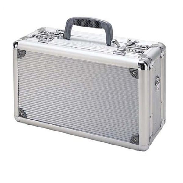 T.Z. Case Double-Sided Silver Stripe Finish 15-inch Pistol Case