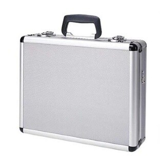 T.Z. Case Multi-Pistol/ Utility Case Silver Dot Finish (16 inches long x 13 inches wide x 5 inches high)