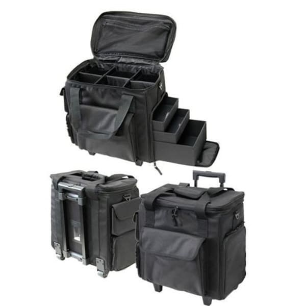 T.Z. Case Soft-Side Wheeled Organizer Case (9.5 inches x 15.5 inches x 16 inches)