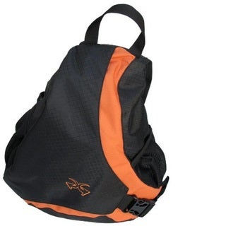Sandpiper Black/ Orange Slider Deluxe Back Pack