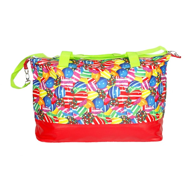 Candy Crush Oversized Tote Bag