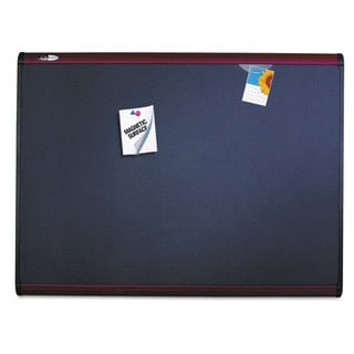 Quartet Prestige Plus Magnetic Fabric Bulletin Board