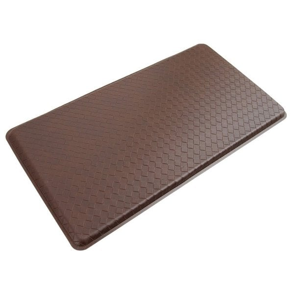 Anti-fatigue Reversible Basketweave Gel Mat