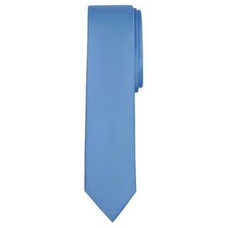 Jacob Alexander Solid Color Men's Skinny Tie