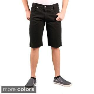 Enyce Men's Frayed Twill Short