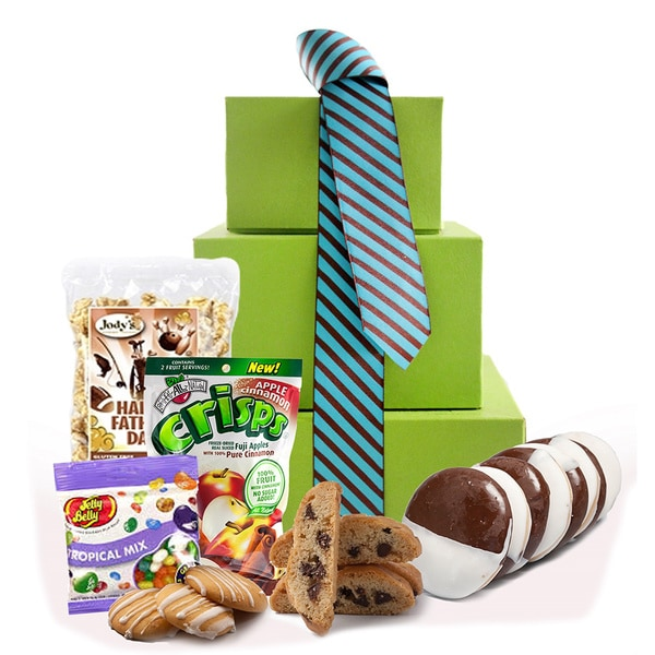 You're My Big Man' Father's Day Gluten Free Gift Tower, Large, 2 pounds