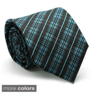 Ferrecci Mens Premium English Striped Neckties