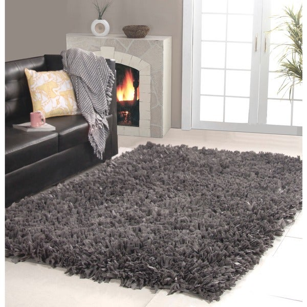 Affinity Home Collection Cozy Shag Area Rug (5' x 8') (As Is Item)