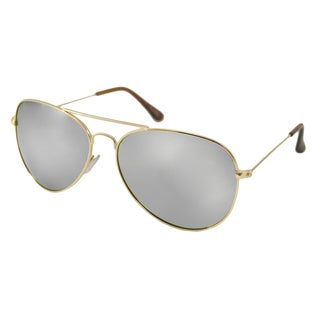 Urban Eyes Men's/ Unisex UE6625RV Aviator Flash Sunglasses