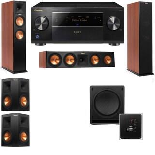 Klipsch RP-260F CH-RP-450C-SW-112-5.1-Pioneer Elite SC-85 Tower Speakers