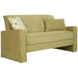 Better Living Aviva Green Velvet Sofa