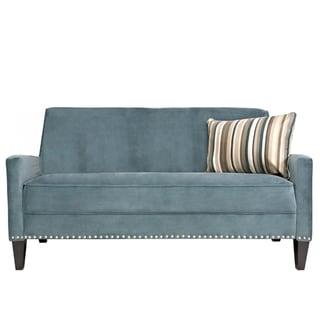 Better Living Gia Blue Velvet Sofa